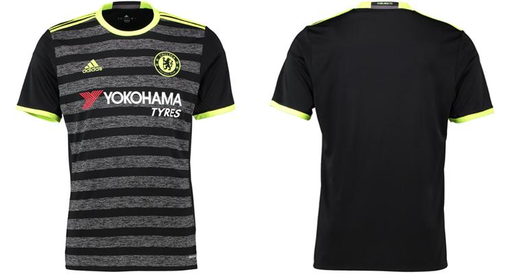 áo chelsea đen 2017 sân khách mùa giải mới