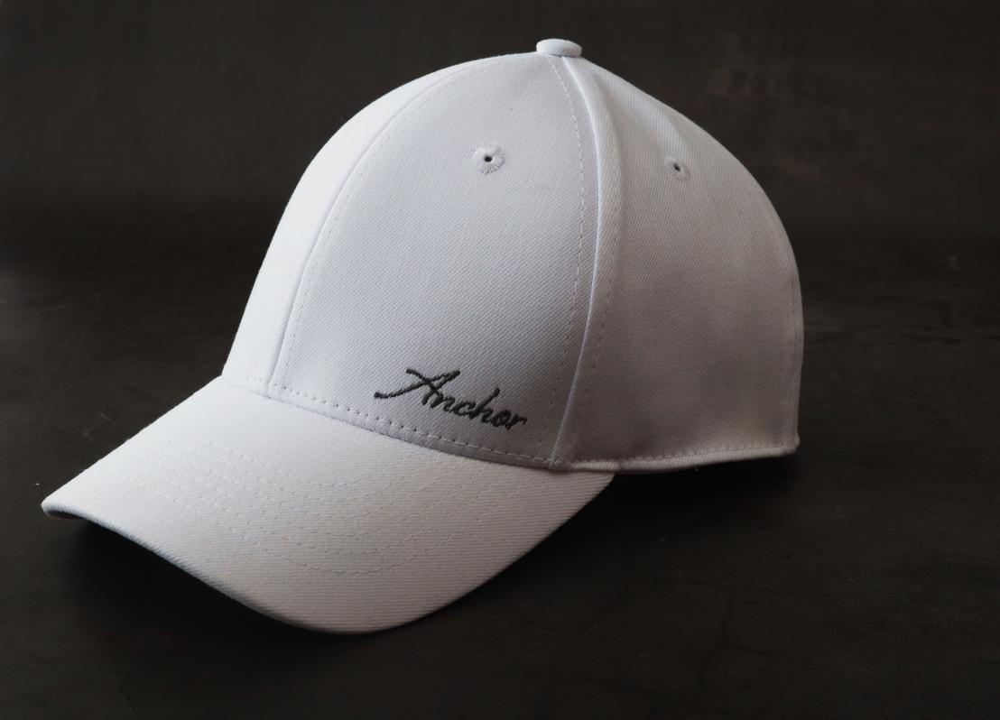 mũ lưỡi trai anchor and helm trắng bít đuôi